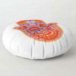 Hamsa Hand Floor Pillow