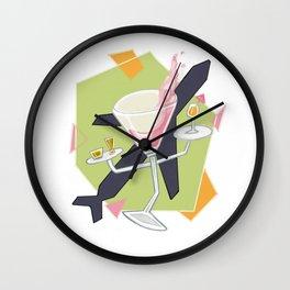 Airport Bars Wall Clock