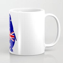 Australian Flag - Penguin Coffee Mug