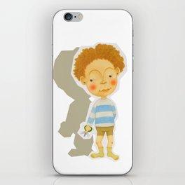 snip snap iPhone Skin