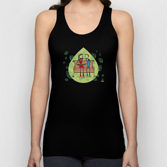 Life and living Unisex Tank Top