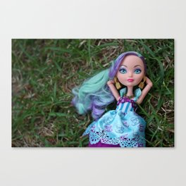 Dreaming in Grass Canvas Print