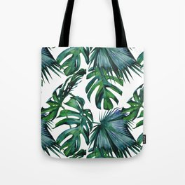 Tropical Palm Leaves Classic Tote Bag