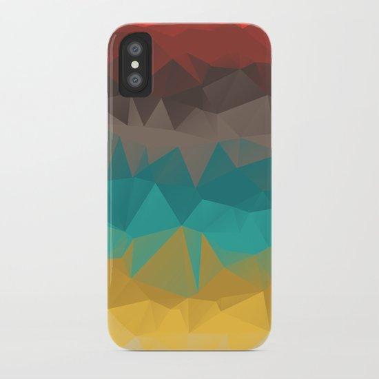 Tricolors iPhone Case