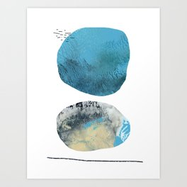 We Tell Our Secrets to the Moon Art Print