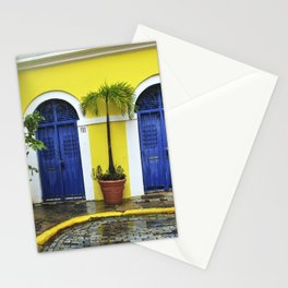 old San Juan, historic distric Puerto Rico Stationery Cards