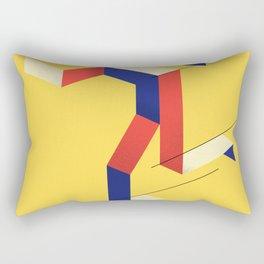 Skater figure Rectangular Pillow