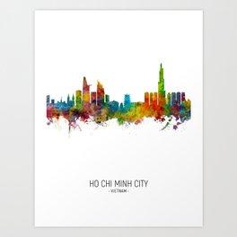 Ho Chi Minh City Vietnam Skyline Art Print