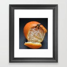 Orange Factory Framed Art Print