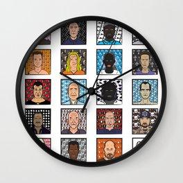 Oz - tv series characters  Wall Clock