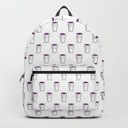 Lean Pattern Backpack