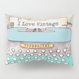 Typewriter #3 Pillow Sham