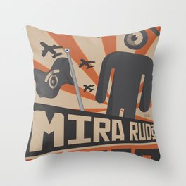 see tough, see strong Throw Pillow
