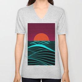 Don't let the sun go down on me Unisex V-Neck