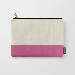Minimal pattern two colors for living bedroom bath Carry-All Pouch