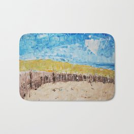 Day at the Beach Bath Mat
