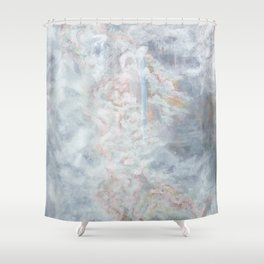 lost in transcendence Shower Curtain