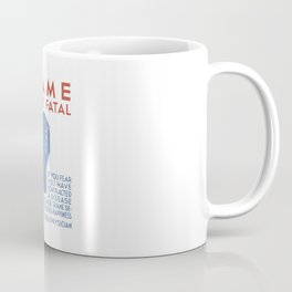 Shame May Be Fatal -- WPA Poster Coffee Mug