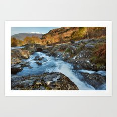Ashness Bridge - Lake District Art Print