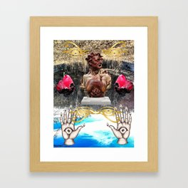 Save Your Paragraphs Framed Art Print