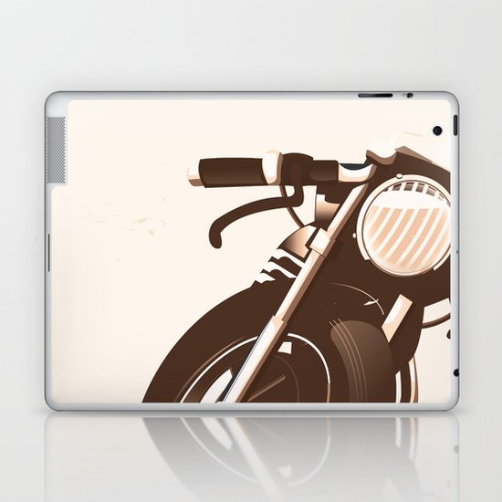 Vintage Motorcycle Laptop & iPad Skin