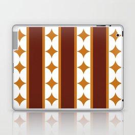 Bars and Stars,mocca Laptop & iPad Skin