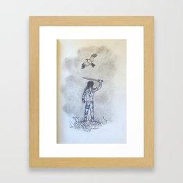 The Son of the Kite Framed Art Print