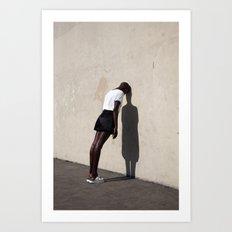 Giannina Leaning Art Print
