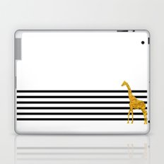 Gold Giraffe Laptop & iPad Skin