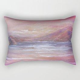 Landscape in Pink MM150601 Rectangular Pillow