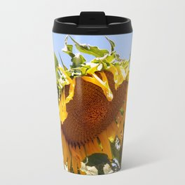 Bursting Sunflower Travel Mug