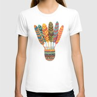 rustic T-shirts featuring Rustic shuttlecock by Picomodi