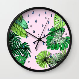 Rainforest Refresh Wall Clock