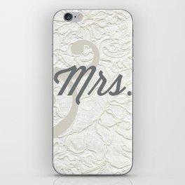 Mrs. iPhone Skin
