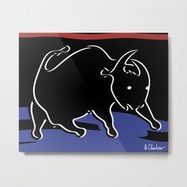 Bull 2 Metal Print