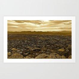 Top of Camelback Mountain Art Print