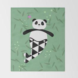 Merpanda Throw Blanket