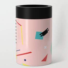 Memphis Geometry Lesson Can Cooler
