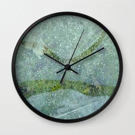 resting Wall Clock