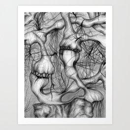Anomalies I - Detail Art Print