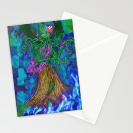 Hulu Cthulu (Airbrush version) Stationery Cards
