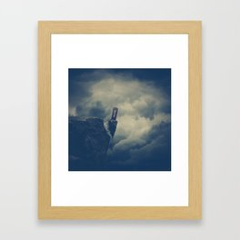 Telephone 6: Whisper in the Wind Framed Art Print