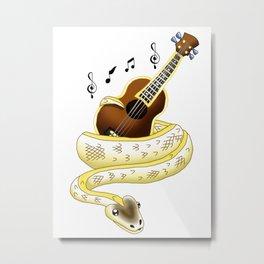 Snake Piece #22 - AJ's Ivory Metal Print