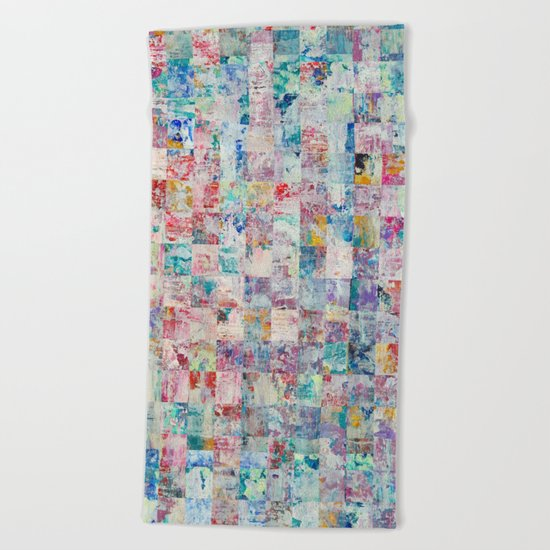 Abstract 136 Beach Towel