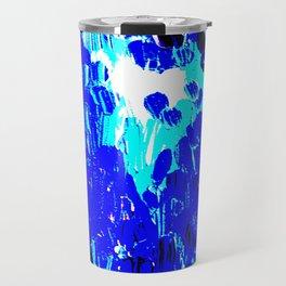 Pop Blue Plumdrops Travel Mug