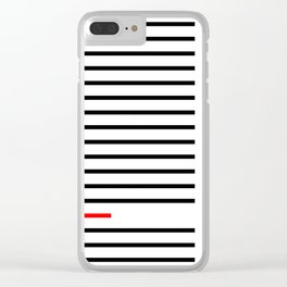 Too Short Clear iPhone Case