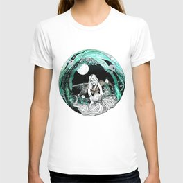 La sirena y el pescador T-shirt