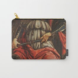 Sandro Botticelli - Fortitude Carry-All Pouch