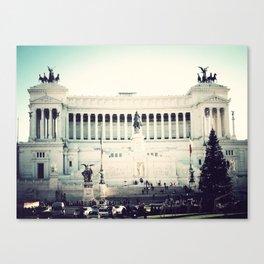 Il Vittoriano, Rome Canvas Print