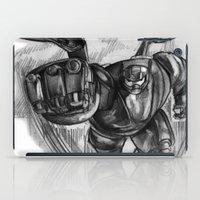 big hero 6 iPad Cases featuring Baymax Big Hero 6 by VivianLohArts